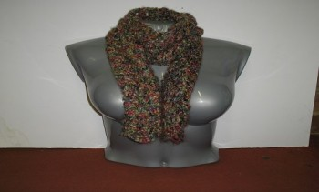Knit Addict » Feather and Fan Scarf